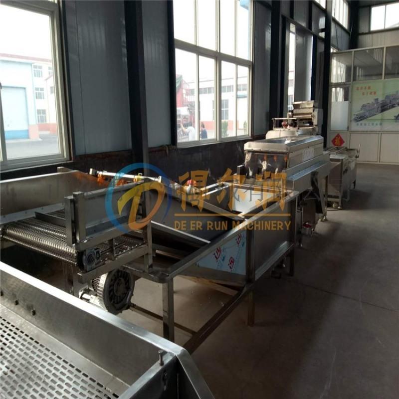 鸡毛菜清洗沥水机 净菜加工设备 油菜清洗机流水线