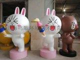 上海大型玻璃钢 商业美陈空间雕塑厂家