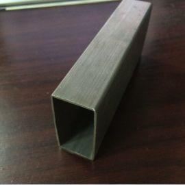 不锈钢非标管现货,工业流体管,不锈钢304拉丝管