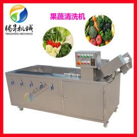 果蔬气泡清洗机 高压喷淋清洗机