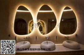 酒店防雾镜 智能  发光 化妆 环保镜