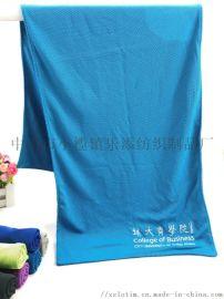 厂家定制冷感运动巾 跑步运动消暑冷感巾