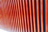 鋁方管金屬外牆設計效果 吊頂裝飾隔斷圖片