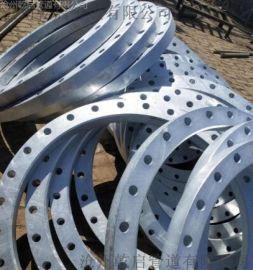 热镀锌国标法兰 GB/T9119-2010热镀锌法兰 热镀锌板式平焊法兰 规格DN15-DN2000 乾启厂家供应