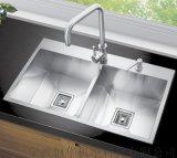 厂家直销不锈钢手工水槽SUS304 型号8045