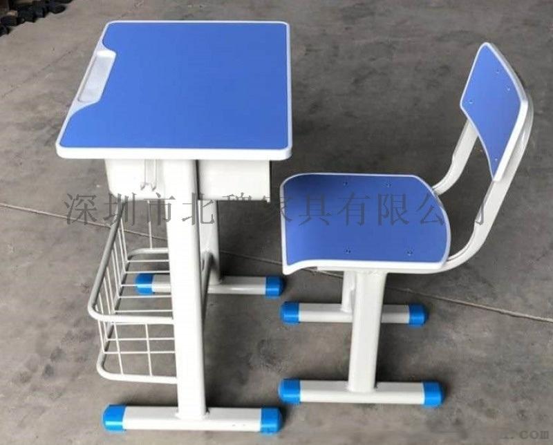 KZY001学生单人课桌椅(深圳北魏品牌)