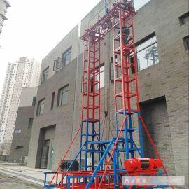 建筑工程全自动自升式龙门架 标准小型15米21米高度龙门架 限高起重龙门架