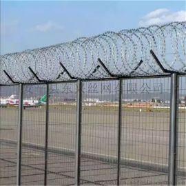 东兴Y型安全防御网-机场护栏网-带刺绳护栏网