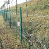 护栏网浸塑铁丝网养殖场围栏围网防护网防护围栏网