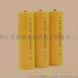 镍镉电池 600mAh AA AAA C D SC