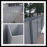 pvc材质通风管道 防腐耐酸 5mm厚灰色白色