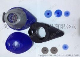 柔軟矽膠防塵面罩 服帖防塵面具 工業粉塵霧霾 煤礦口罩打磨專用