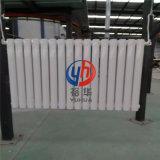鋼製立式雙柱家用集中供暖暖氣片 橢圓管鋼二柱散熱器