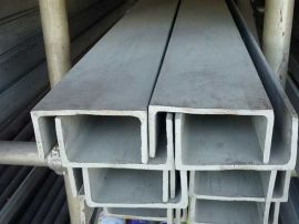 304不鏽鋼槽鋼各種非標定制廠價銷售