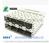 2X4不带导光SFP光纤插座
