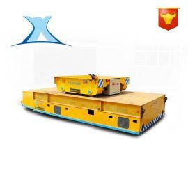 地轨平车渣包电动轨道平板车可定制低压轨道平板车蓄电池搬运车