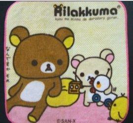 日本割绒涂料印花小方巾