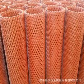 厂家销售菱形圈地防护网 水塘防护网 菱形防护网 钢板网护网