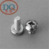 6mm 304不鏽鋼十字盤/圓頭螺釘 機牙螺釘/圓機  GB818 M6*10-100