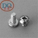 6mm 304不锈钢十字盘/圆头螺钉 机牙螺钉/圆机  GB818 M6*10-100