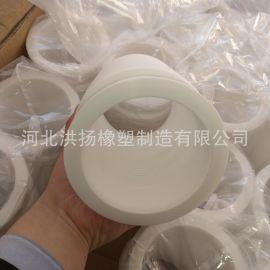 扩口式聚四氟乙烯软连接 玻璃管道用耐酸碱四氟软连接