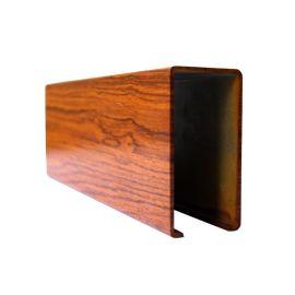U型铝方通厂家直销木纹热转印铝方通彩色铝合金铝方通