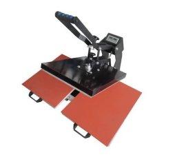 手压双工位自动磁力高压烫画机