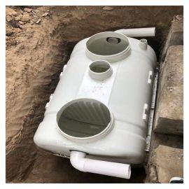 重量轻化粪池玻璃钢组装式隔油池