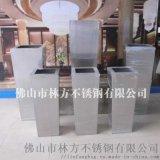 深圳優質不鏽鋼花盆  酒店擺設酒紅色花盆