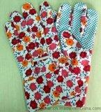 纯棉花园园艺手套用于园林防刺防滑工作