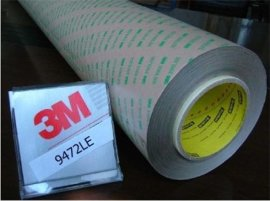 供应3M双面胶 ,无基材双面胶, 3M9472双面胶