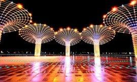 供應雲南太陽能庭院旅遊景觀LED照明道路燈