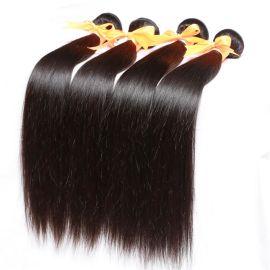 virgin brazilian straight hair 外贸优质真人发假发发帘   厂 家直销    真人发  直发