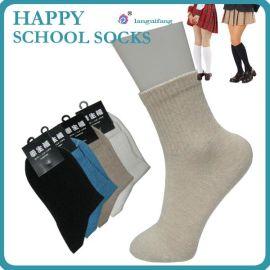 **兰桂坊学生运动袜短袜 纯棉学生袜批发