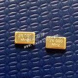 小尺寸贴片晶体26MHz