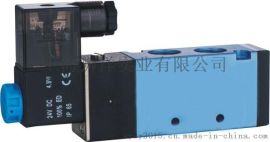 气动元件电磁阀 4V110-06-220V/24V气缸配件控制阀门气阀快排阀门