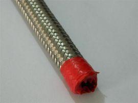 不锈钢丝编织网套,防爆金属软管,耐腐蚀、耐高低温,承压力强