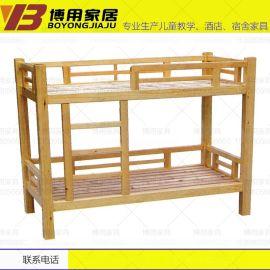 简约四川宿舍上下床 学生实木双层床厂家