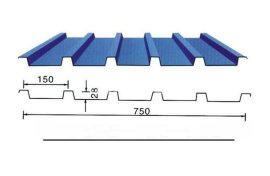YX28-150-750彩钢压型板