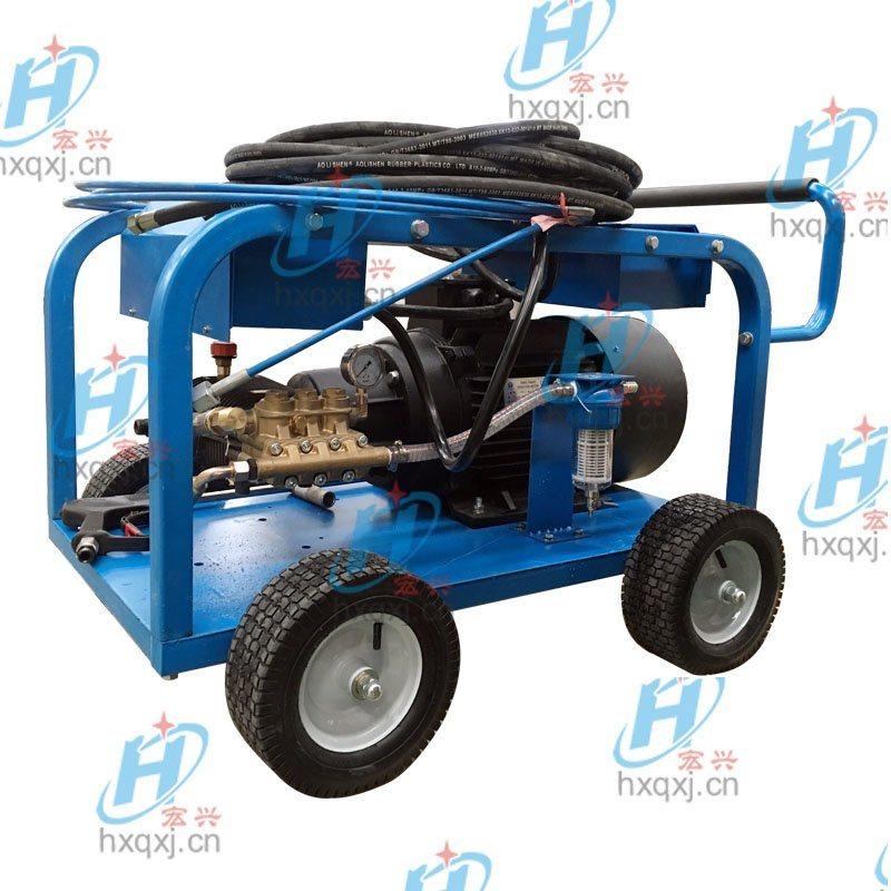 500公斤水泥路面高壓清洗機 路面標識標線水噴砂清除機