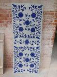 景德镇陶瓷厂定制家具镶嵌青花陶瓷瓷板瓷片