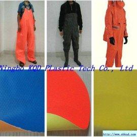 PVC防护服防水面料