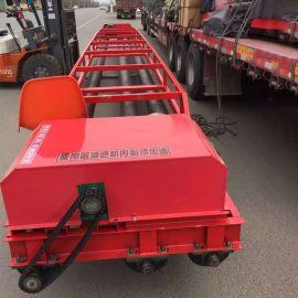 混凝土三滚轴摊铺机 混凝土路面整平机 沥青路面摊铺机效果好