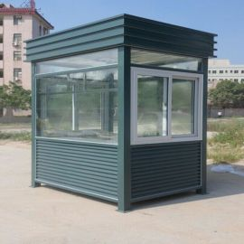 广州厂家直销玻璃房 户外物业**小区治安 保安岗亭