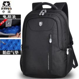 申派sinpaid商务双肩电脑包 新款双肩包电脑包旅行背包批发定制