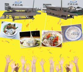 全自动河粉机_河粉机价格_广东河粉机价格厂家直销 华震机械品牌
