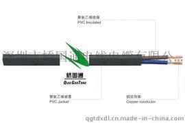 2芯机械设备软护套电缆