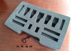 精密电子冲型异形包装海绵 任意尺寸定制加工 eva防静电海绵内衬