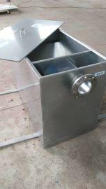 厂家供应小型油水分离器厨房餐饮检查必备环保不锈钢无动力隔油器