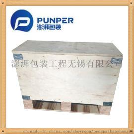 厂家定做出口木质包装箱澎湃加工免熏蒸胶合板木箱